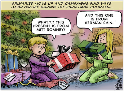 October 2011 - Editorial Cartoons