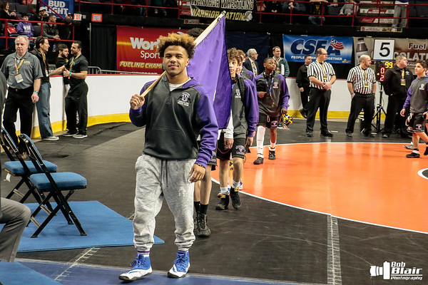 2018 NYS Wrestling Opening Ceremonies