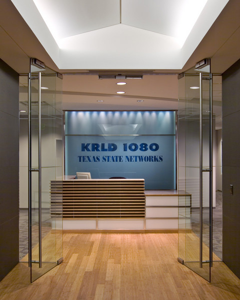 CBS Radio, Dallas.  Client:  Benson Hlavaty Architects, Dallas.
