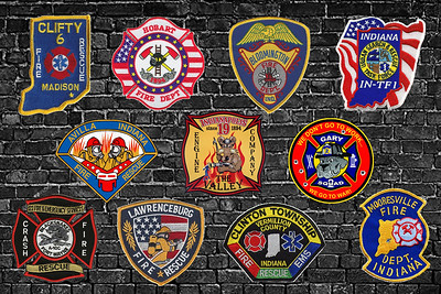 Indiana Fire/EMS Patches
