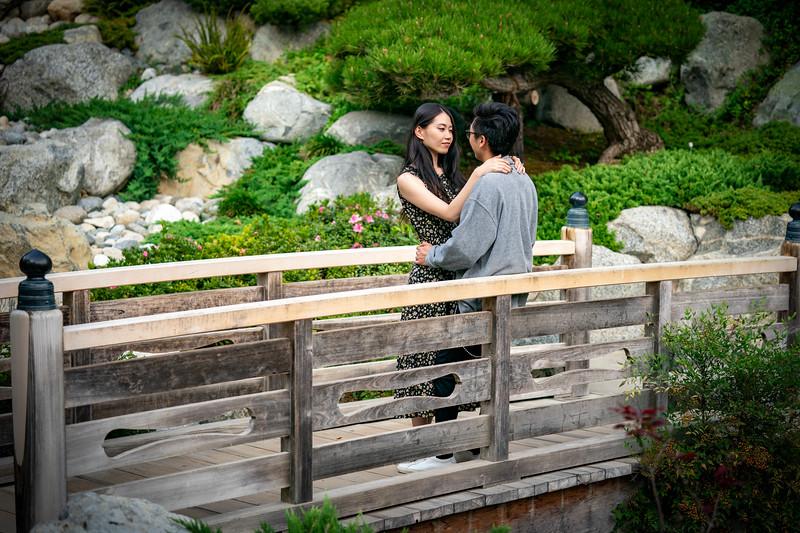 Fun couples photoshoot at Balboa Park in San Diego