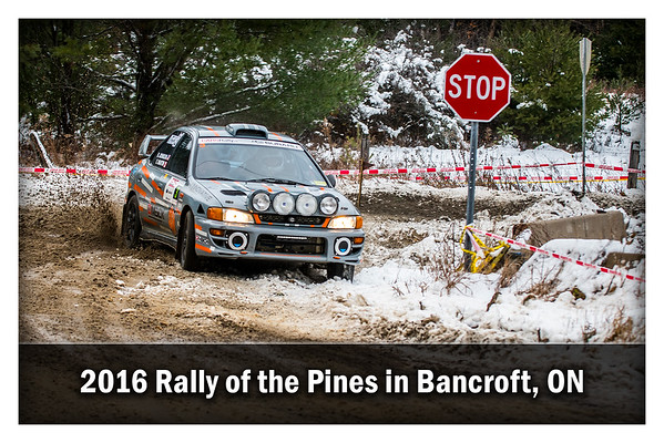 2016 Rally of the Pines, Bancroft ON