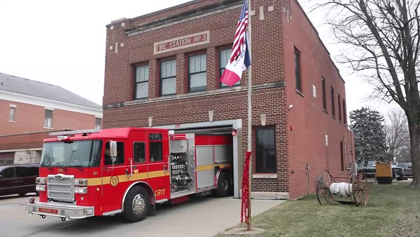 Clinton Iowa Fire Department Funeral Service Video For Lt Eric Hosette