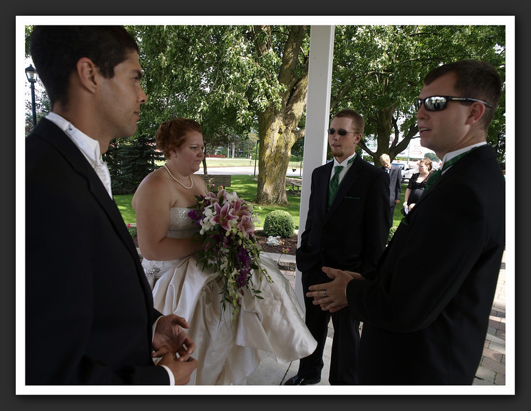 Bridal Party Family Shots at Stayner Gazebo 2009 08-29 007 .jpg