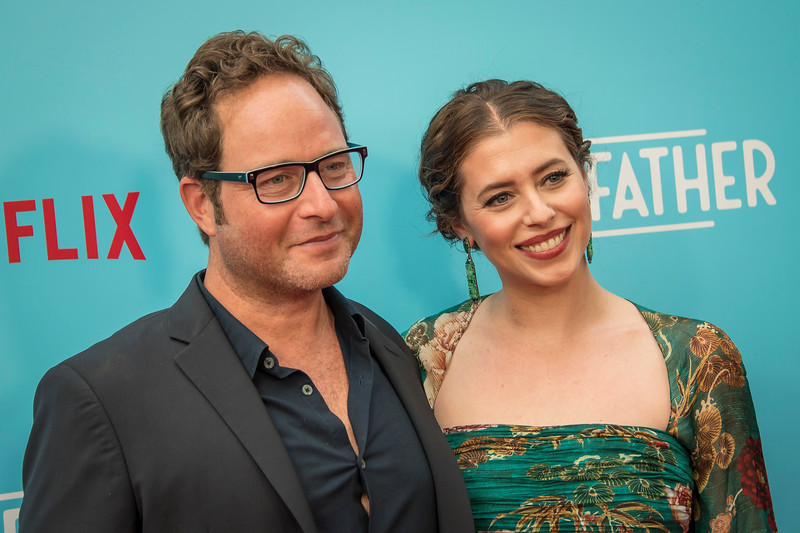 HOLLYWOOD, CA - JULY 31: Anders Bard and Lauren Miller Rogen arrive at the Premiere Of Netflix's 'Like Father' at ArcLight Hollywood on Tuesday, July 31, 2018 in Hollywood, California. (Photo by Tom Sorensen/Moovieboy Pictures)