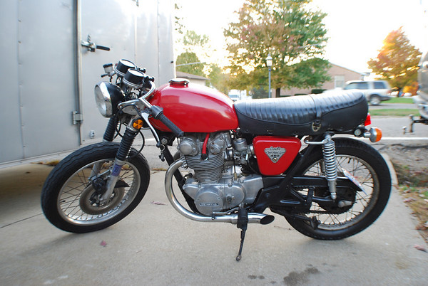 1973 CB450 Project