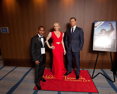 Posed with Leo & Kate