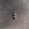 Tiffany & Co. Diamond and Tsavorite Bubble Pendant 12