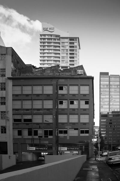 Abandoned Building, Auckland CBD, 2014.