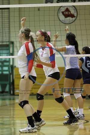 Seabury Hall Girls Volleyball - SF 10-30-13