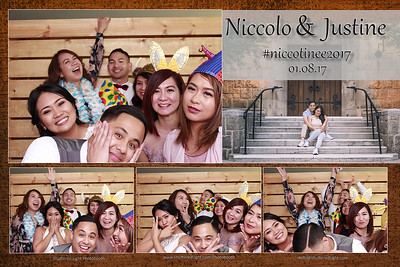 Niccolo and Justine Photobooth