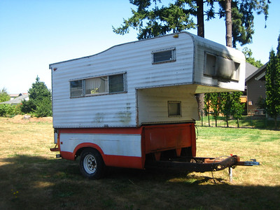 8' Security Camper(gone to camper heaven)
