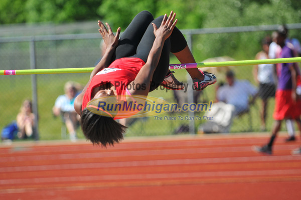 High Jump - 2012 Oakland County Track Meet