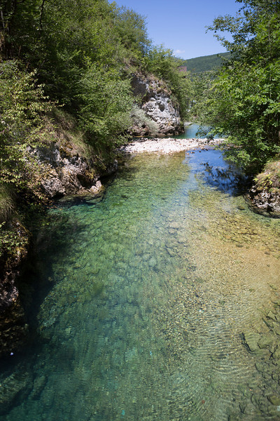 River flowing from the Bastašica cave