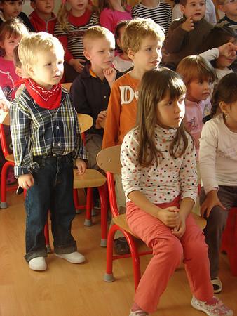 Kindergarden Sept - Dec 2010