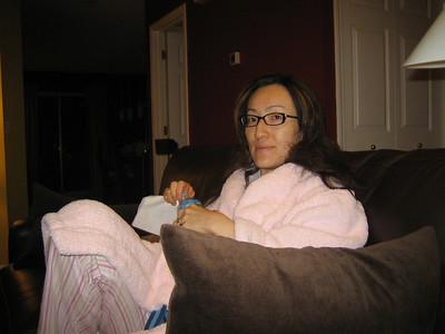 Kashwere robe Apr 2006