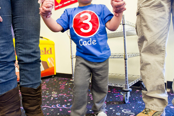 Cade: 3 Years Old!