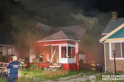 Box Alarm - 11019 Roselawn, Detroit, MI - 7/6/18