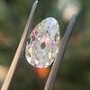 2.13ct Antique Pear Shape Diamond, GIA I, VS2 17