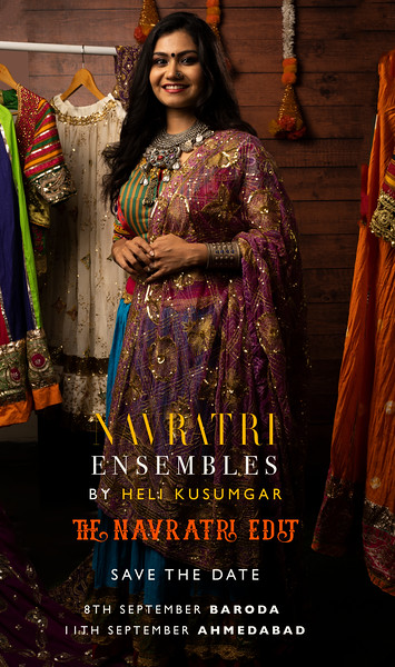 Heli Kusumgar | Navratri Edit