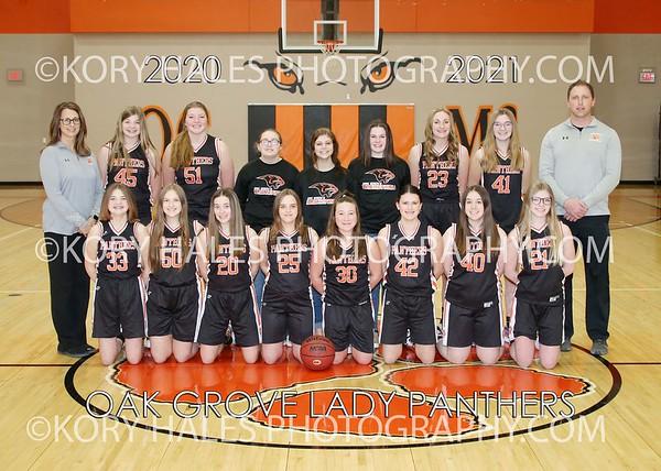2020-2021 OGMS Girls Basketball