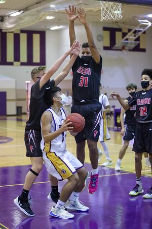 Boys Frosh Basketball v Madison 12/23/20
