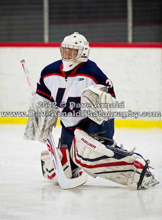 2/22/2012 - Boys Varsity Hockey - Lawrence vs St. Sebastians