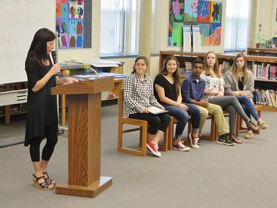 Reid Middle School S.A.Y. It Proud Awards