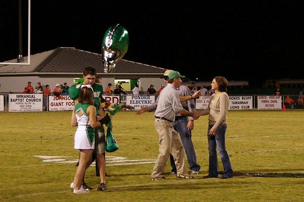 Senior Night, October 23, 2009