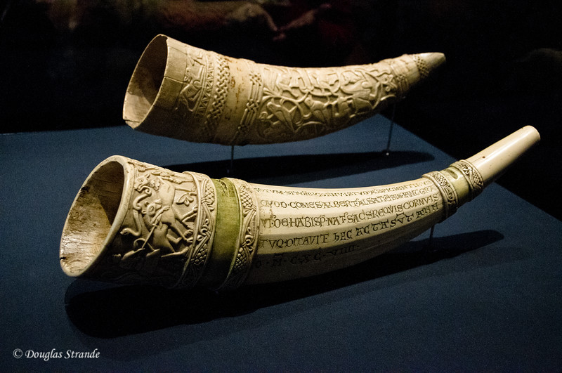 Carved tusks, Art History Museum, Vienne