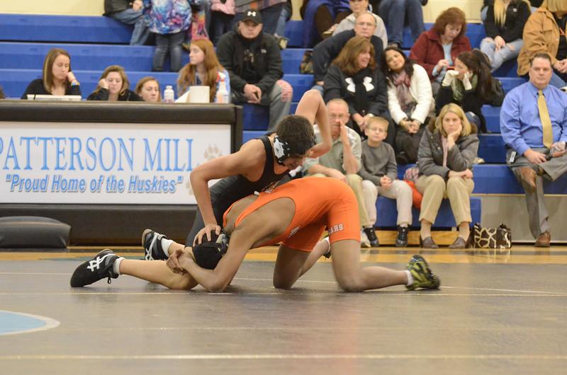 JV Wrestling January 18 vs Fallston