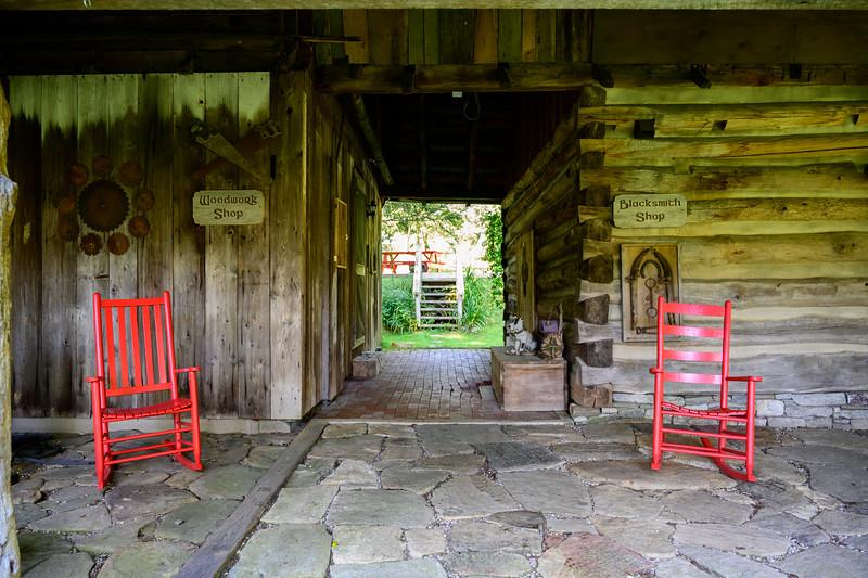 Porch Life at Mast Farm Inn