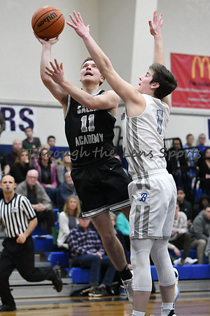 Salem Academy vs. Blanchet Boys High School Basketball