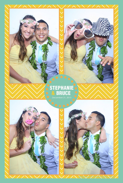 Stephanie + Bruce (Luxe Photo Booth)
