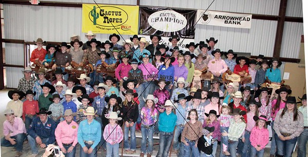 Hill Country Jr Rodeo Awards