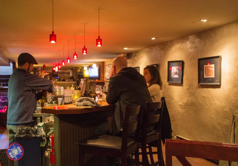 The Grotto Bar at the Union Block Italian Bistro in Hammondsport, NY (©simon@myeclecticimages.com)