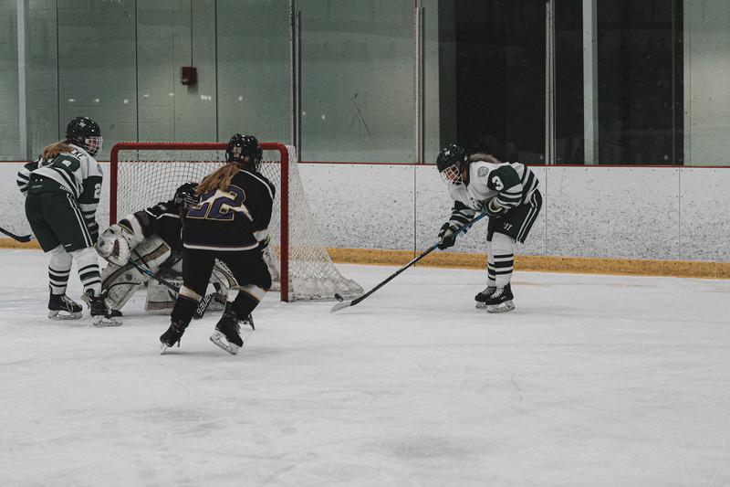 Holy Family Varsity Girls Hockey vs. Waconia, 1/9/20: MacKenzie Moss '22 (3)