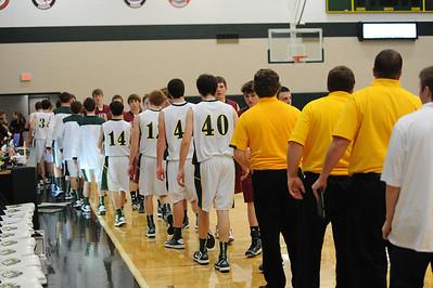 Boys Varsity Basketball - South Hamilton 2012