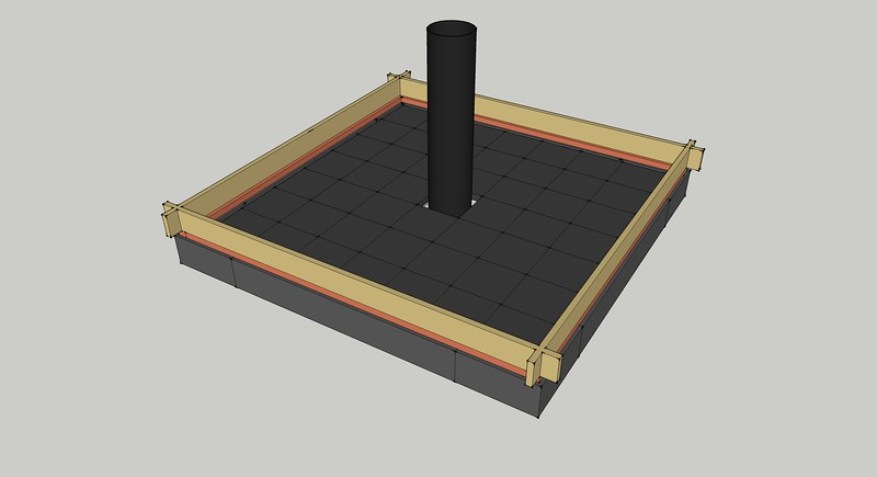 April 2020: designing and modelling with SketchUp