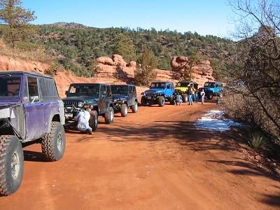 Rampart Range Road 2-18-07