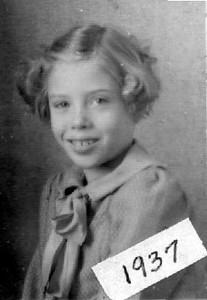 Joyce Herdrich, 1937