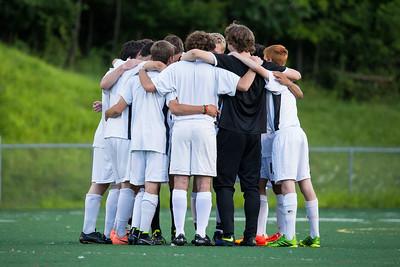 Hanover Boys soccer alumni game