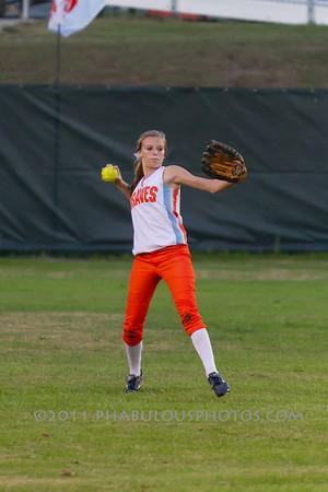 University @ Boone Girls Varsity Softball - 2012