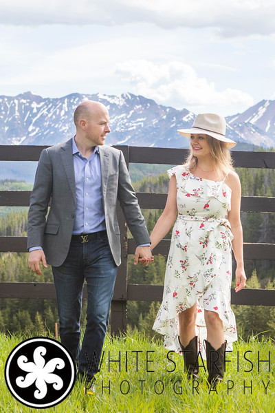 Vail Engagement Photos - Vail Mountain - Alex and Erin