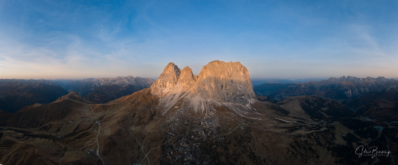 Sunrise at Passo Sella II