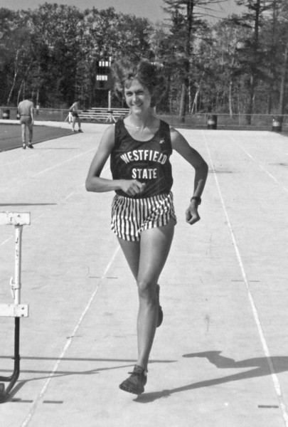 Possible good photo for Janice Beetle history of athletics story:   Cindy (Sturm) Menard, a track and cross country star in the early 1980s, is Westfield State's first national champion and the only two-time national champion. She captured the NCAA Division III cross country championship in 1981 and placed first nationally in the 3,000 meter run during the 1982 outdoor track season.