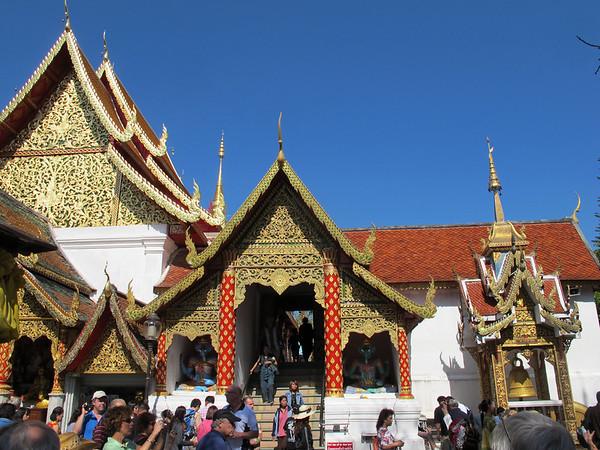 Chiang Mei's Wat Prathat Doi Suthep.