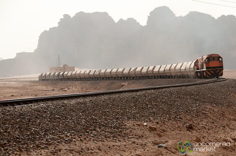 A Train Across the Desert - Wadi Rum, Jordan