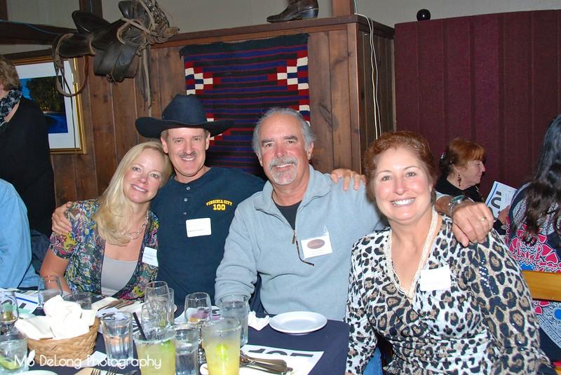 Tina Lambert, Robert Finston, David Lambert and Sharon Finston.jpg