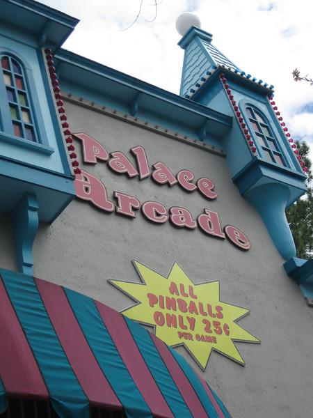 Palace Arcade.